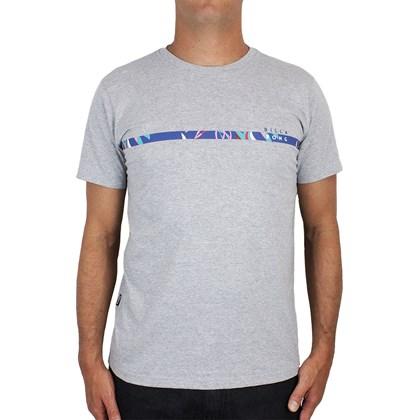 Camiseta Billabong Perimeter Cinza Mescla