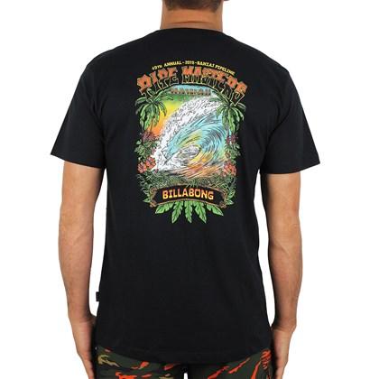 Camiseta Billabong Pipe Masters Tube Preta