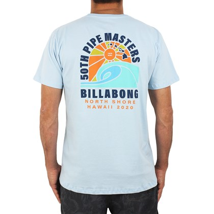 Camiseta Billabong Pipe Masters Wave Azul Claro