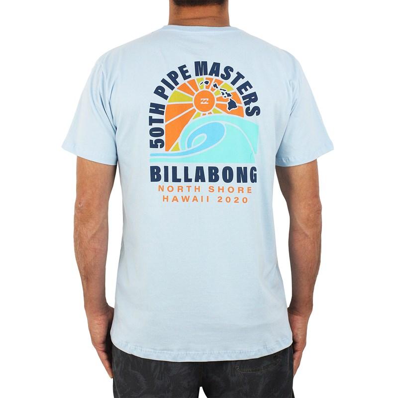 Camiseta Billabong Pipe Masters Wave Azul Claro
