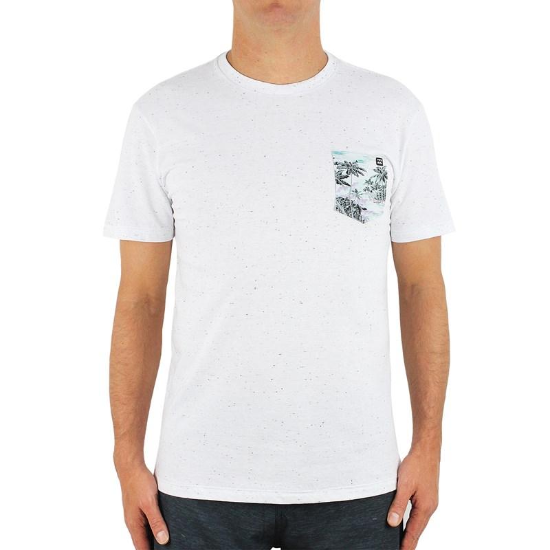 Camiseta Billabong Punta Roco Pocket Off White