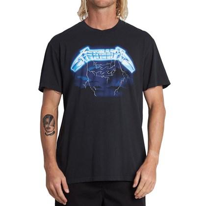 Camiseta Billabong Ride The Lightning Black