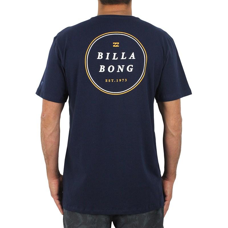 Camiseta Billabong Rotor LF Azul Marinho