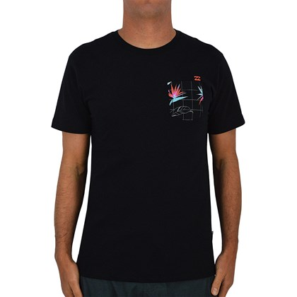 Camiseta Billabong Rotor Pocket Black