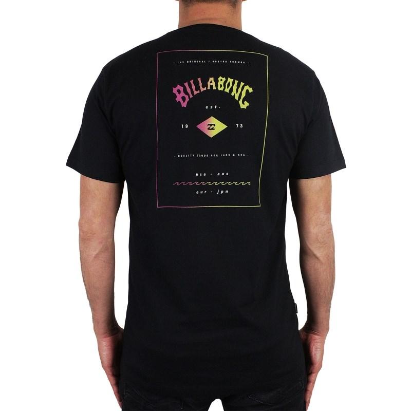 Camiseta Billabong Station Preta