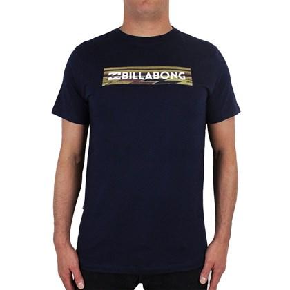 Camiseta Billabong Unity Block Azul Marinho