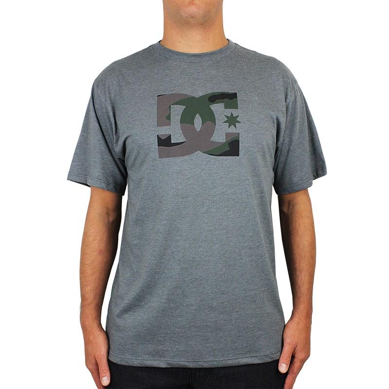 Camiseta DC Shoes Camo Tymez Dark Grey