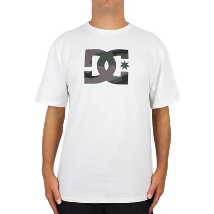 Camiseta DC Shoes Camo Tymez Snow White