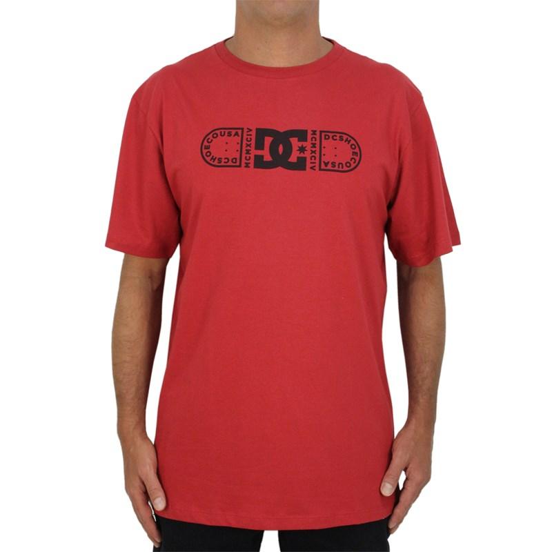 Camiseta DC Shoes Outline Blader Red