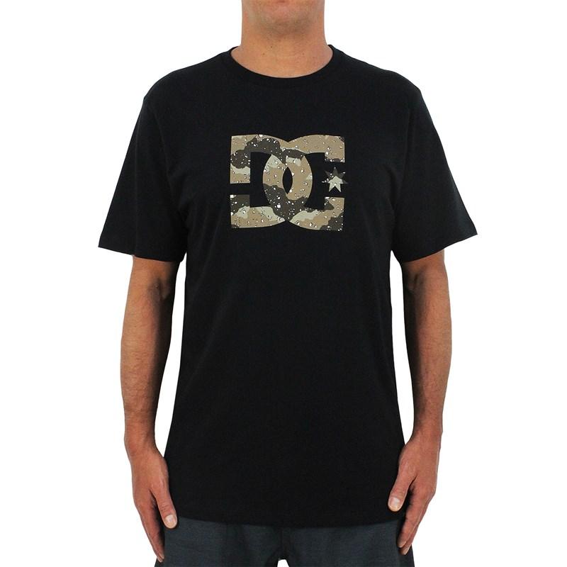 Camiseta DC Shoes Star Camo Black