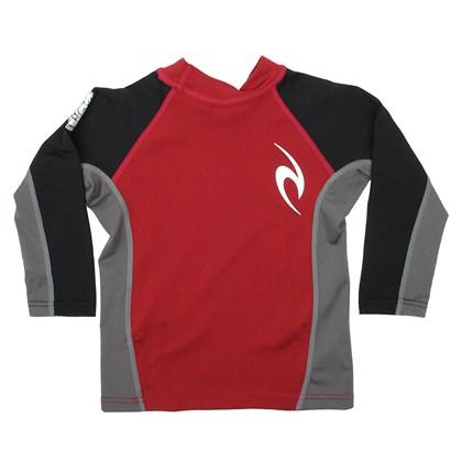 Camiseta de lycra Rip Curl Undertow Black Red