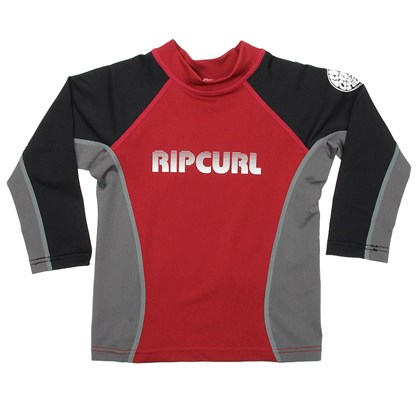 Camiseta de lycra Rip Curl Undertow Black Red