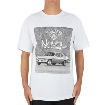 Camiseta Diamond Collab Chevrolet Nova White