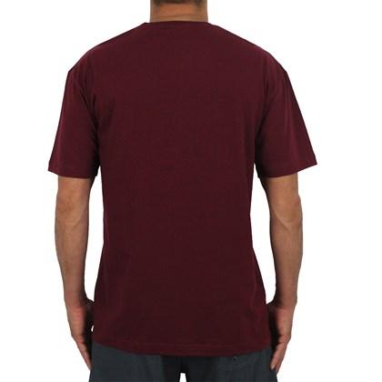 Camiseta Diamond Geo Lion Burgundy