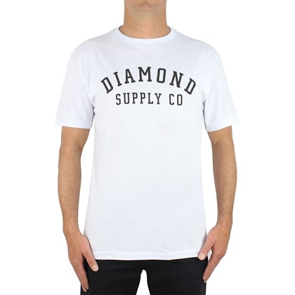 Camiseta Diamond Stencil White