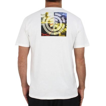 Camiseta Element Nat Geo Quadrant Seasons Off White