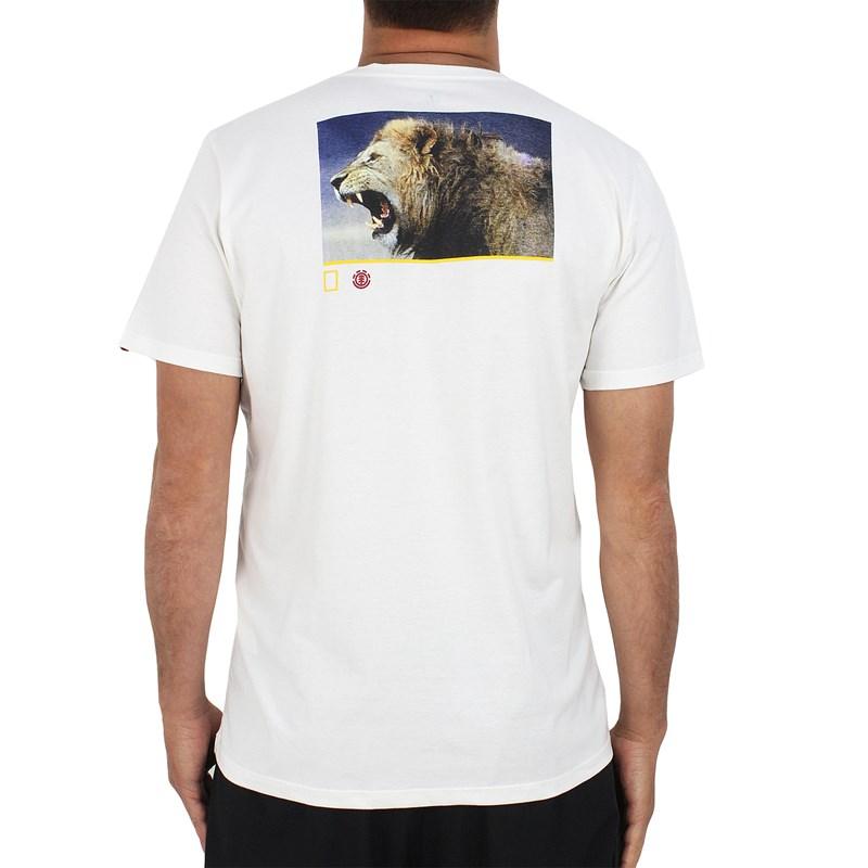 Camiseta Element Nat Geo Snarl Off White