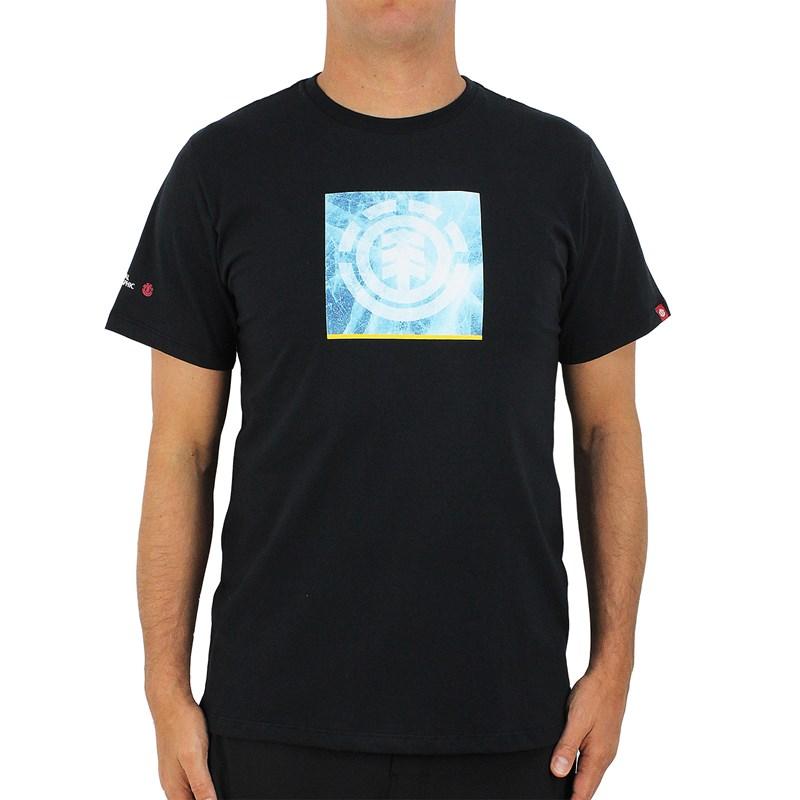 Camiseta Element Nat Geo Solvent Icon Black