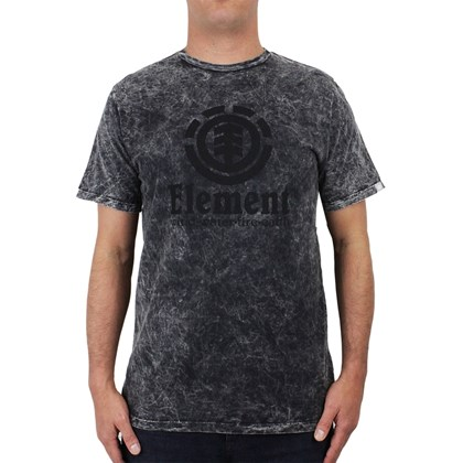 Camiseta Element Spotted Preta