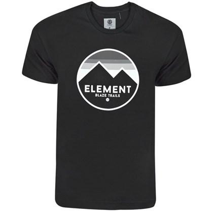 Camiseta Element Sunset Preta