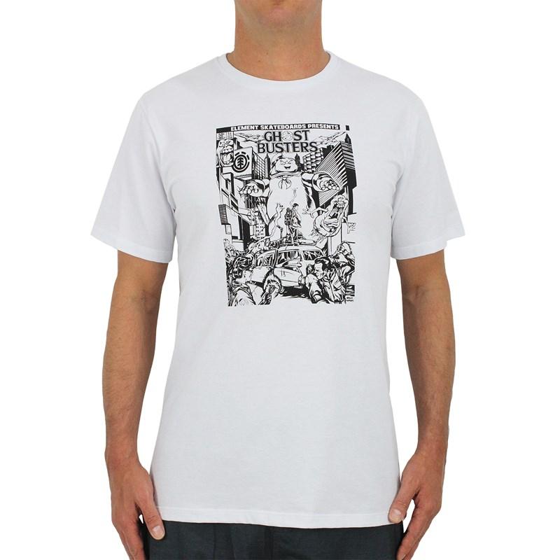Camiseta Element X Ghostbusters Carnage White