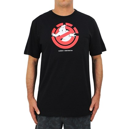 Camiseta Element X Ghostbusters Ghostly Black