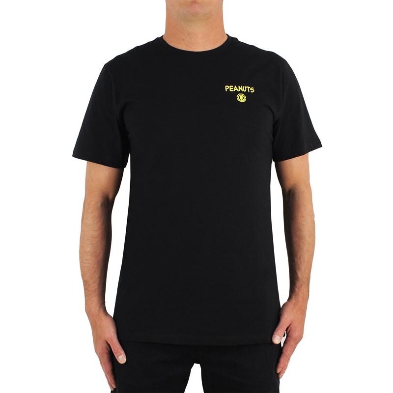 Camiseta Element X Peanuts Kruzer Black