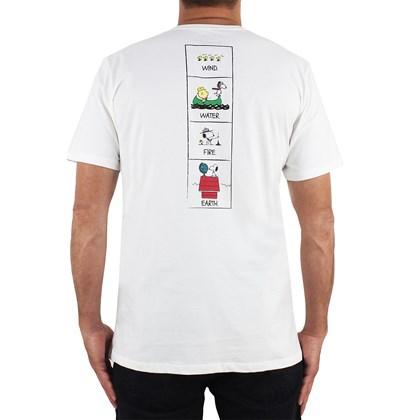 Camiseta Element X Peanuts Page Off White