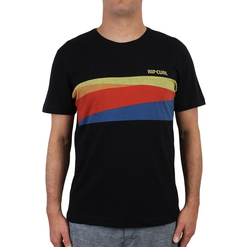 Camiseta Especial Rip Curl Bordered Black