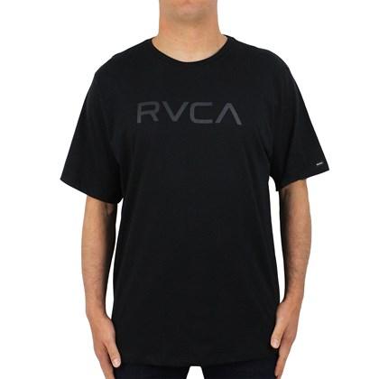 Camiseta Extra Grande Big RVCA II Preta