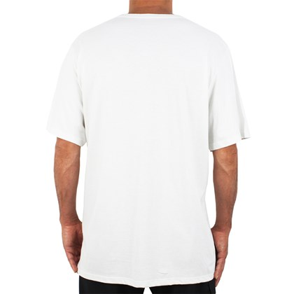 Camiseta Extra Grande Big RVCA Off White