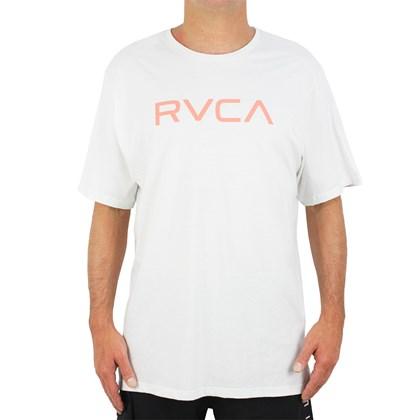 Camiseta Extra Grande Big RVCA Off White