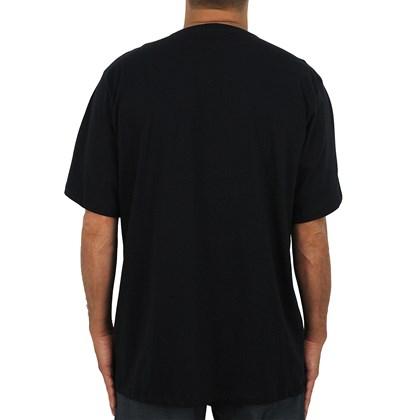 Camiseta Extra Grande Big RVCA Preta