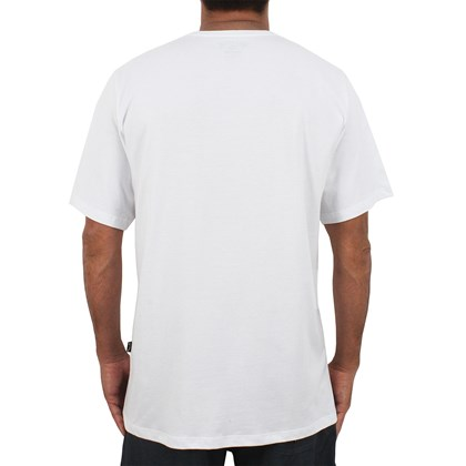 Camiseta Extra Grande Billabong Access White