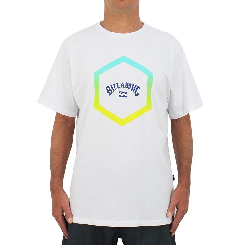 Camiseta Extra Grande Billabong Access White