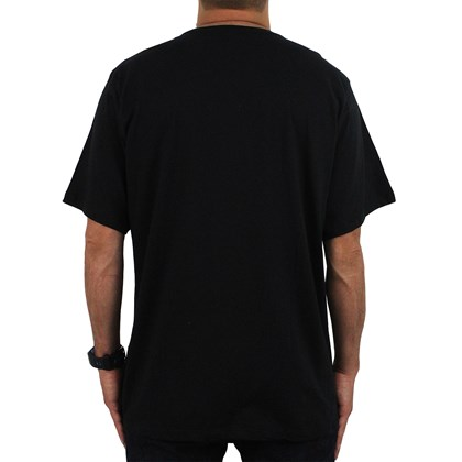 Camiseta Extra Grande Billabong Basic Preto
