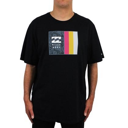 Camiseta Extra Grande Billabong D Bah lll Preta