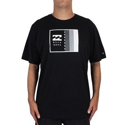 Camiseta Extra Grande Billabong D Bah Preta