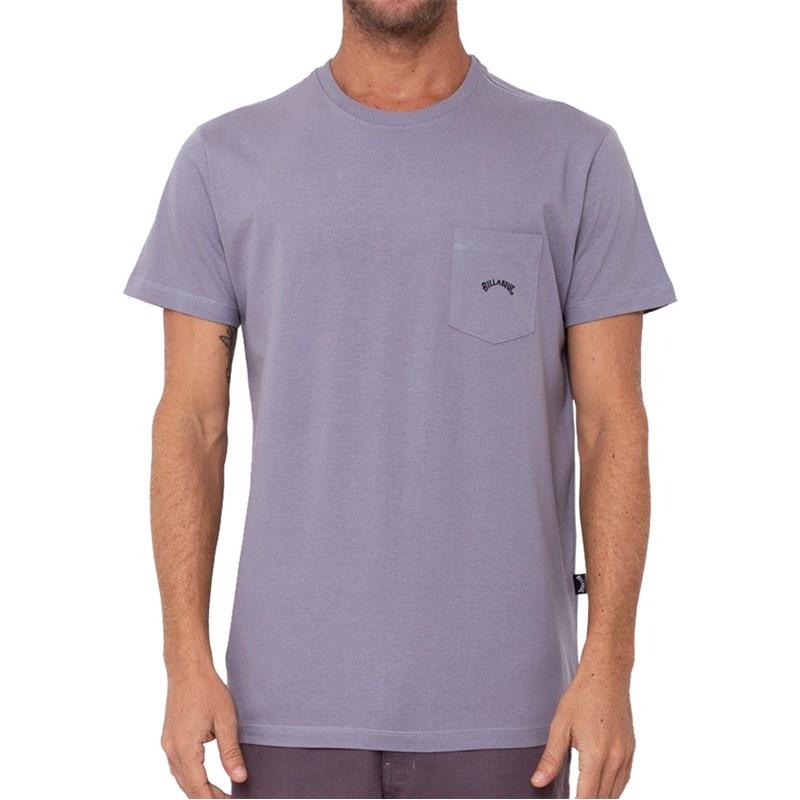 Camiseta Extra Grande Billabong Dune I Cinza
