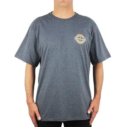 Camiseta Extra Grande Billabong Transit Dark Grey