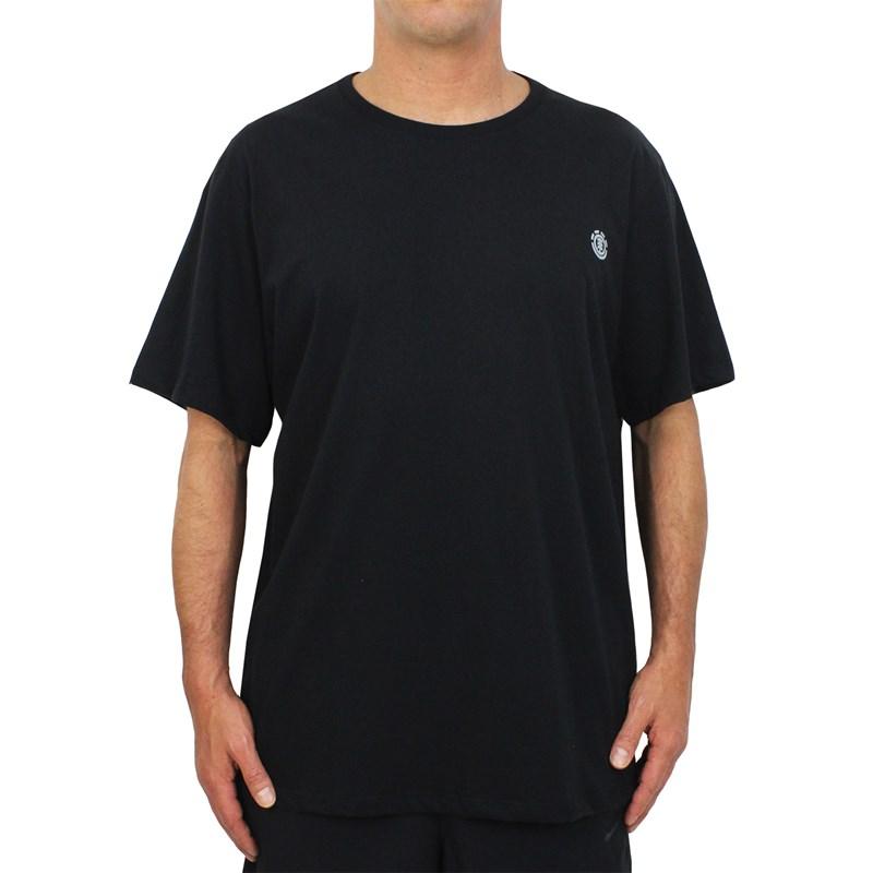Camiseta Extra Grande Element Basic Crew Black