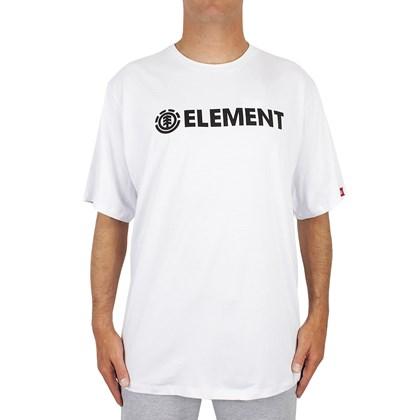 Camiseta Extra Grande Element Blazin Branca