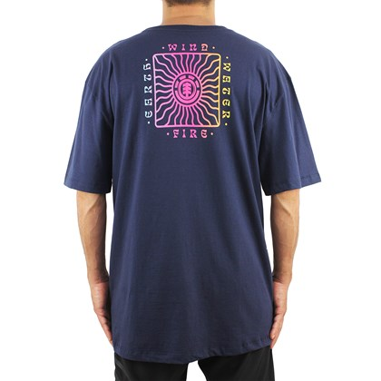 Camiseta Extra Grande Element Cahaba Navy