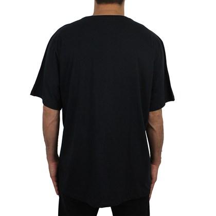 Camiseta Extra Grande Element Drip Preta
