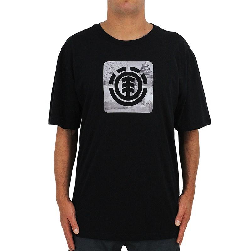Camiseta Extra Grande Element Four Season Black