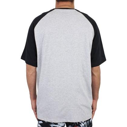 Camiseta Extra Grande Element Fundamental Cinza Mescla