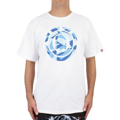 Camiseta Extra Grande Element Shards Branca