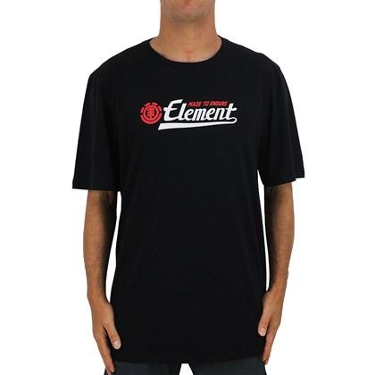 Camiseta Extra Grande Element Signature Black