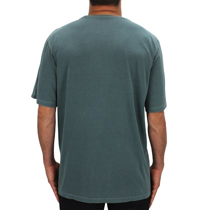 Camiseta Extra Grande Element Team Tees Verde Escuro