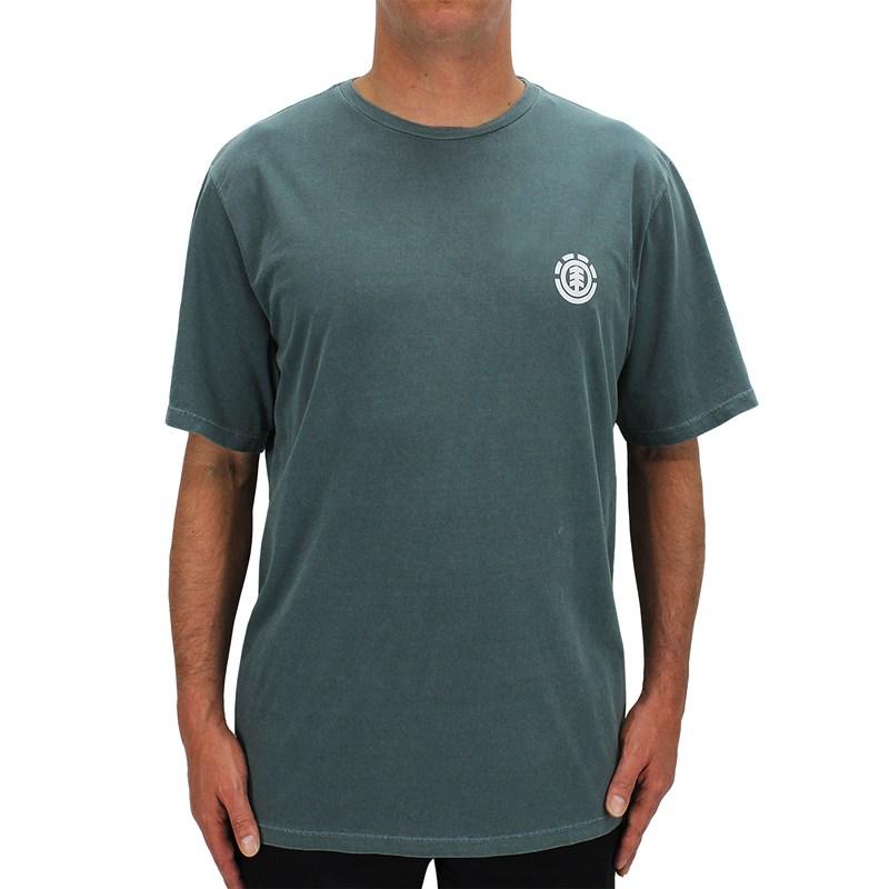 Camiseta Extra Grande Element Team Tees Verde Escuro